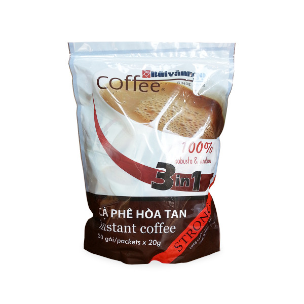 Instant coffee 3in1 Strong 1kg - Buivanngo Coffee - Hotline: 0903752889