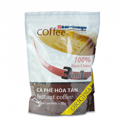 Instant coffee 3in1 Original 1kg - Buivanngo Coffee - Hotline: 0903752889